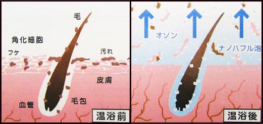 オゾンマイクロナノバブル温浴